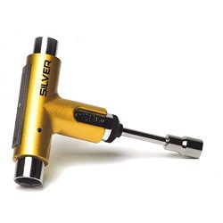 Silver Trucks Metallic Gold Multi-Purpose Skate Tool