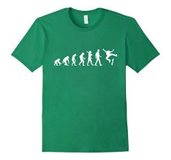 Mens SKATEBOARD EVOLUTION | T-Shirt For Men and For Women Large Kelly Green