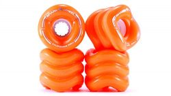 Shark Wheel California Rolls Skateboard Wheels 60mm, 78a – Orange