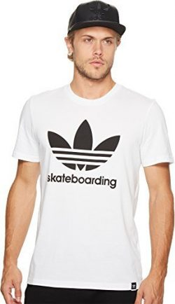 adidas Skateboarding  Men's Clima 3.0 Tee White 2 T-Shirt