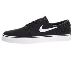 Nike Mens Zoom Stefan Janoski CNVS Blk/White/Gm Lght Skate Shoe 10.5 Men US