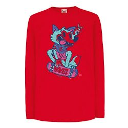 Kids Boys/Girls T-Shirt Skater Fox -Streetwear, Urban Clothing, Skateboarding Clothes, Skate Gea ...