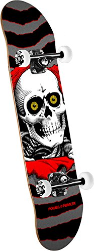 Powell-Peralta Ripper One Off Mini Prebook! Standard Skateboard, Multicolor, 13″