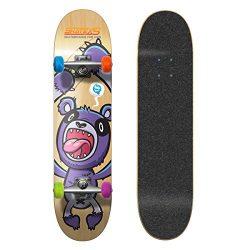 SkateXS Beginner Panda Street Kids Skateboard