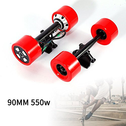 GDAE10 90mm Dual 6364 Hub Motors Drive Kit for Electric Skateboard Longboard Part 550w US Stock