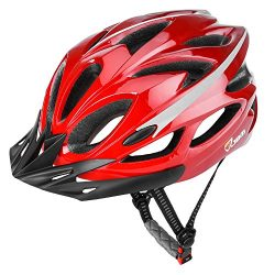 JBM international JBM Adult Cycling Bike Helmet Specialized for Mens Womens Safety Protection Re ...