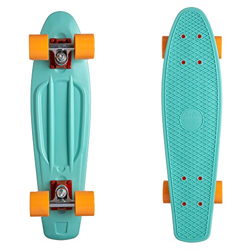 Ten Toes by Westridge Quip Complete 22.5″ Classic Plastic Mini Cruiser Skateboards