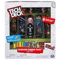 Tech Deck Sk8shop Bonus Pack (styles vary)