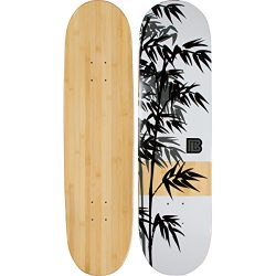 Bamboo Skateboards Moso Graphic Skateboard Deck, Natural, 8.25″ x 32″