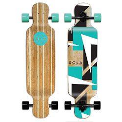 Sola Bamboo Premium graphic design Complete longboard Skateboard – 36 to 38 inch (FUTURE)