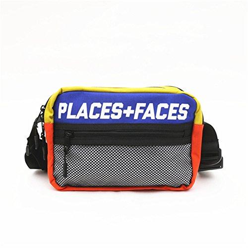 Homekit Fanny Pack Travel Case Sport Pouch Waist Bag PLACES+FACES Skateboards Casual Men's ...