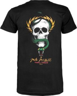Powell-Peralta McGill Skull and Snake T-Shirt, Black, X-Large