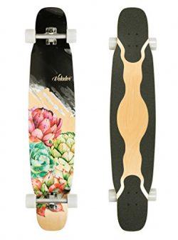 VOLADOR 46inch dancing longboard maple deck (Floral)