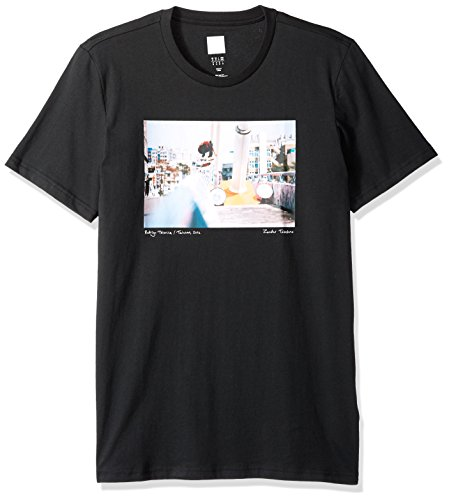 adidas Originals Men's Skateboarding City Photo Tee, Black, XL