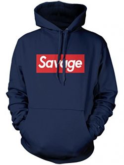 Manateez Men's Savage Skateboarding Hoodie XL Navy
