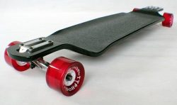 New Professional longboard skateboard Double drop down through Downhill Ranger DDM