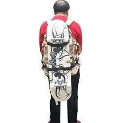 Skateboard Backpack Attachment Skateboard Backpack Holder Keeper Strap – Change Your Ordia ...