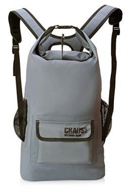 Chaos Ready Waterproof Backpack – Dry Bag – Premium Quality with Padded Shoulder Straps &# ...