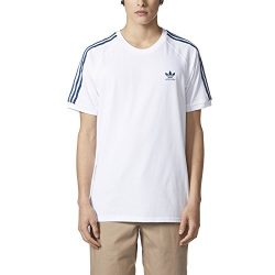adidas Skateboarding Men's California 2.0 Tee White Large
