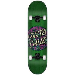 Santa Cruz Skateboard Complete Abyss Dot Green 8.0″ Black Trucks Assembled