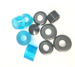 DreamFire 90a Skateboard Bushings for Skateboard Truck Longboard Pennyboard Cruiser Blue