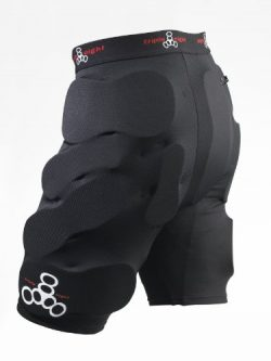 Triple Eight T8 Bumsaver (Black, X-Large)