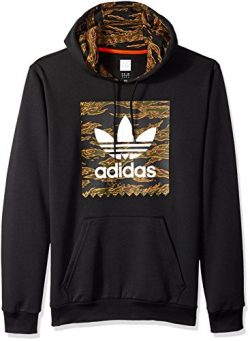 adidas Originals Men's Skateboarding Camo Blackbird Hoodie, Black/Camo Print/Collegiate Or ...