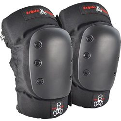 Triple 8 KP 22 Knee Pads (Black, Medium)