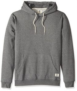 DC Men's Rebel Pullover Hoodie 3 Sweatshirt, Charcoal Heather, X-Large