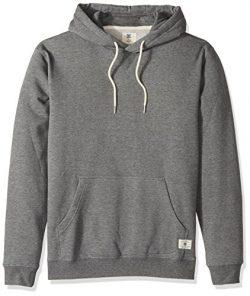 DC Men's Rebel Pullover Hoodie 3 Sweatshirt, Charcoal Heather, X-Large