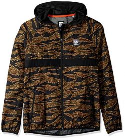 adidas Originals Men's Skateboarding Camo All Over Print Packable Wind Jacket, Camo Print/ ...
